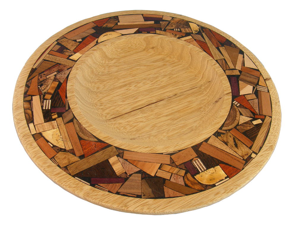 Challah Tray-Wooden Plate w/ Mosaics- Tray w/ Wide Mosaic Border-  sc 1 st  Etz-Ron & Decorative Wood Challah Tray- Bread Serving Plate - Jewish Gift