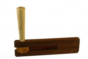 Classic Purim Grogger-Wooden Grogger Noisemaker - Wood Noisemaker - GRO-P-0-0-RWMG_0793.jpg
