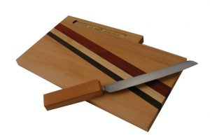 Cutting Board with Knife & Bracha with Knife Out-Cutting Board with Knife & Blessing-CUT-KB-O-Beech-RWP-February2013 108