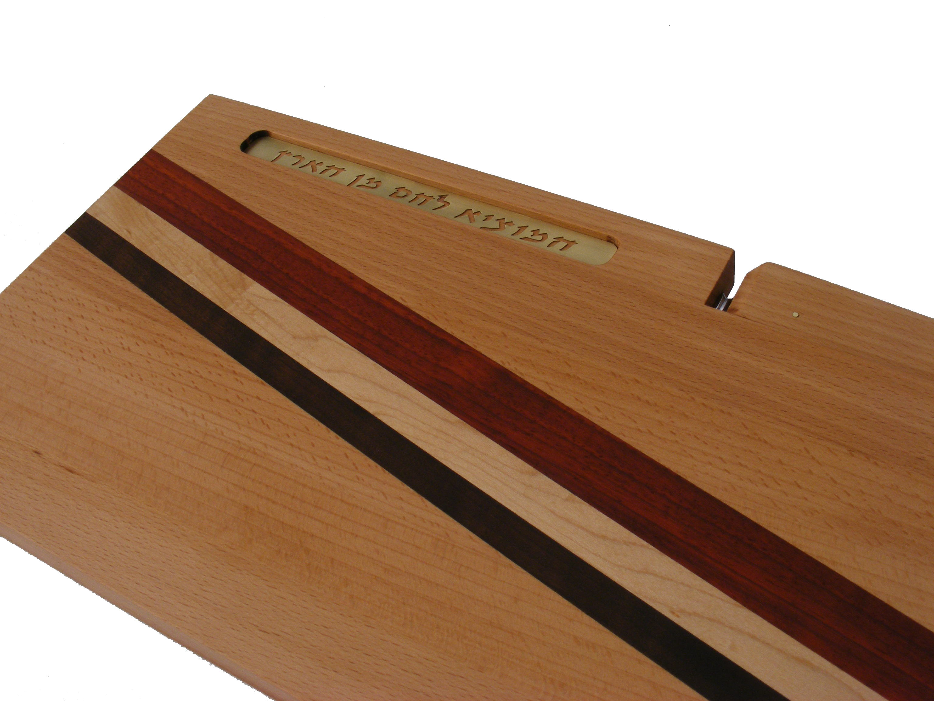 Cutting Board With Knife Blessing Wooden Bread Board Knife
