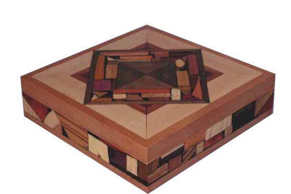Wood Mosaic Box u2013 Keepsake Jewelry Boxes u2013 Large Mosaic Box u2013 Keepsake Box  sc 1 st  Etz-Ron & Angled Jewelry Box-Treasure Chest-Keepsake Box Aboutintivar.Com