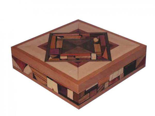 Large Mosaic Box - Keepsake Box - Jewelry Box
