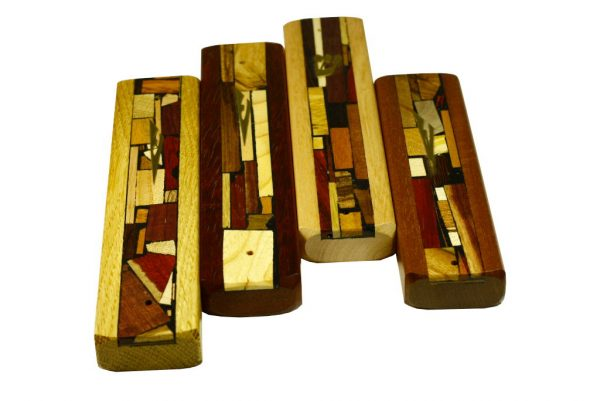 Mosaic-Strip-Mezuzah-Wooden-Mezuzah-MEZ-S-O-many
