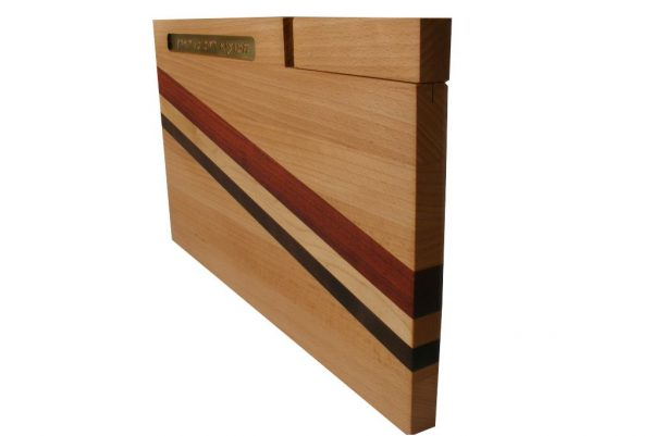 Solid Wood Cutting Board with Knife & Blessing-Wooden Challah Board-CUT-KB-O-Beech-RWP-February2013 109