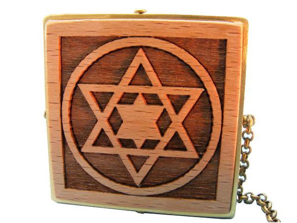 Tallit Clips-Magen David-Jewish Star-Bar Mitzvah Gift-Judaica Present-TAL-S-O-O-RW-tals