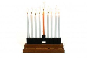 : Travel-Hanukkah-Menorah-from-Anodized-Aluminum-with-Wooden-Mosaic-Box-Bar-Mitzvah-Gift-MEN-T-O-O-RW-25.jpg