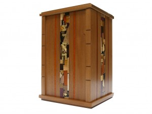 Wooden Wall Mounted Synagogue Sized Tzedakah Box-Synagogue Judaica-Paduak Accents