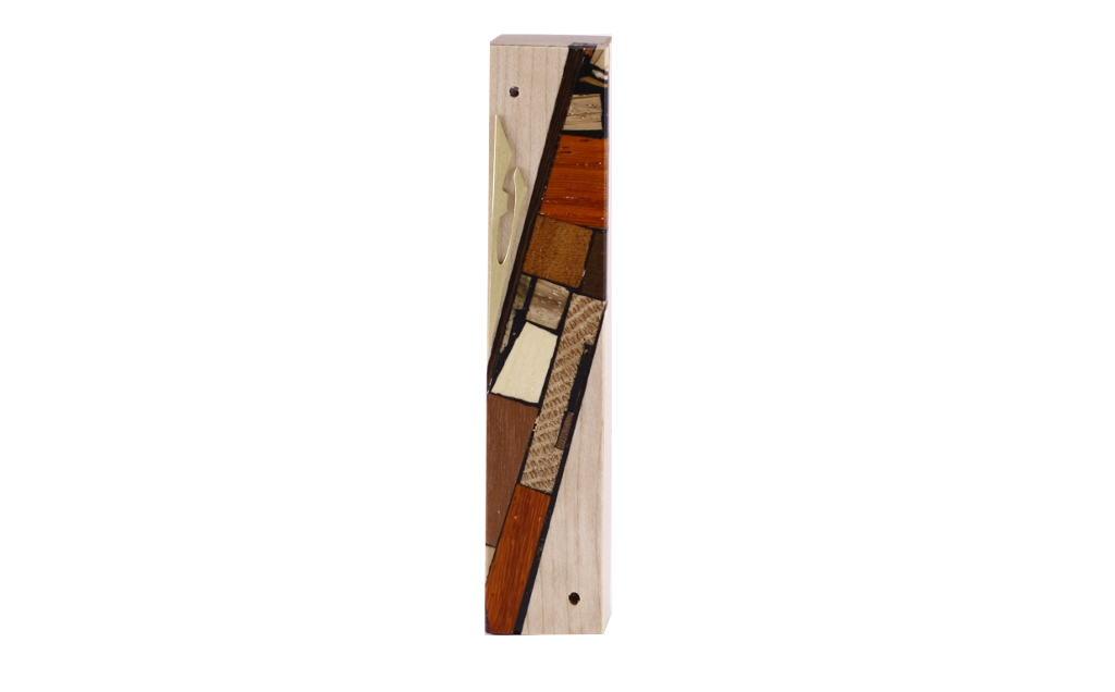 Reversi Wood-Mezuzah-Maple-Reversi-Multi-wood-mosaics-Jewish-gift-MEZ-R-S-Maple-RWCL-2015-06-03-13.25.20.jpg