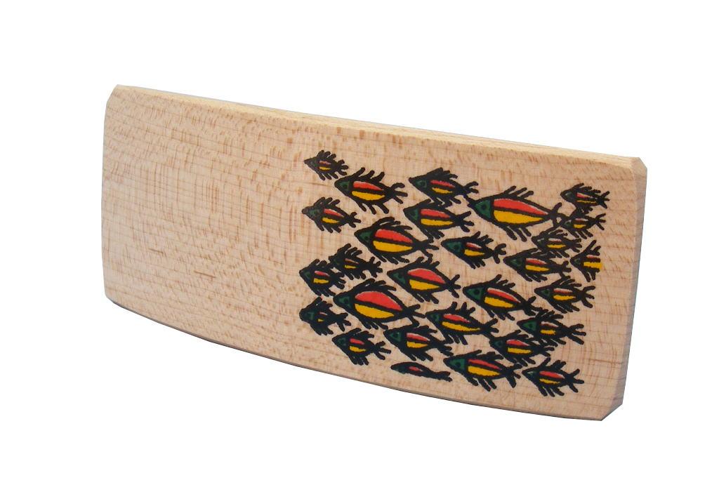 Wood Barrettes