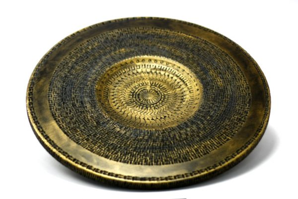 Black & Gold Platter-Wall Art-Carved Wooden Home Decor-PLATTER-Black&Gold-XL-Ply-RWL-MG_3539