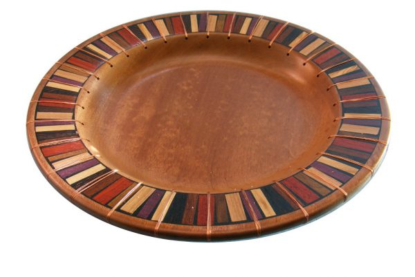 Designer Bowl Wooden Platter Decorative Fruit Bowl