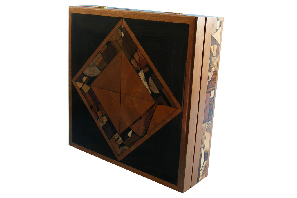 Mosaic Box-Keepsake Jewelry Boxes-Large Wooden Box