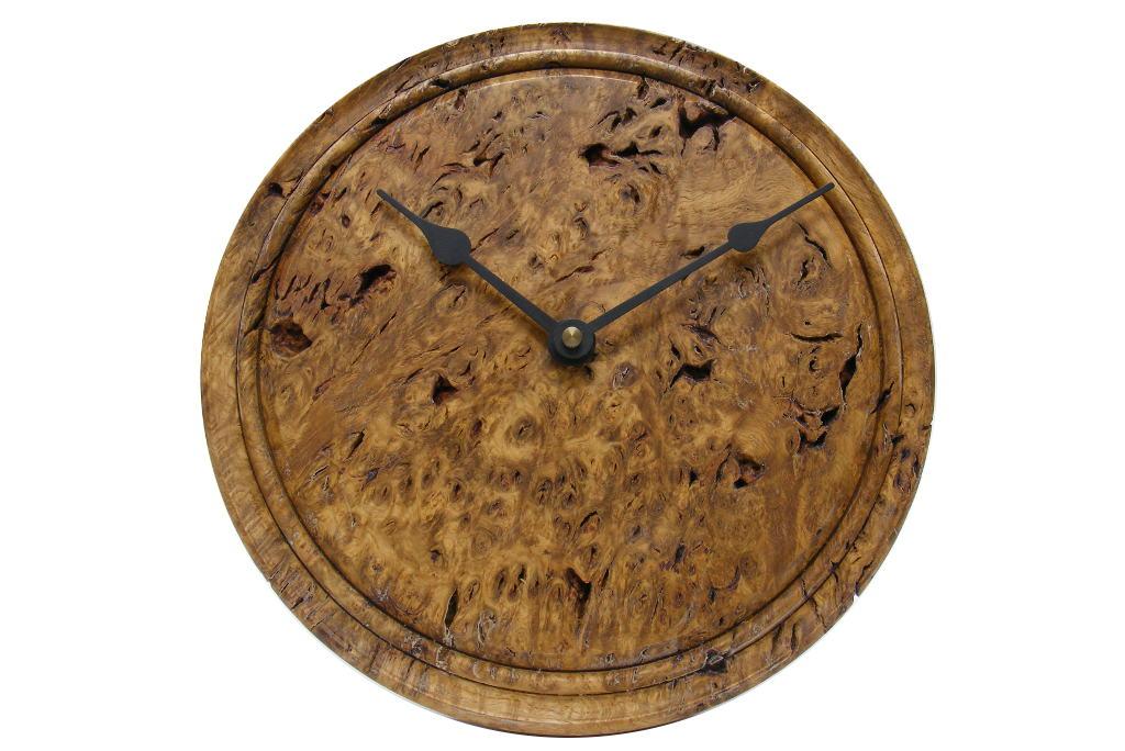 Oak Root 3 Wooden Wall Clock Rustic Kitchen Wall Clock
