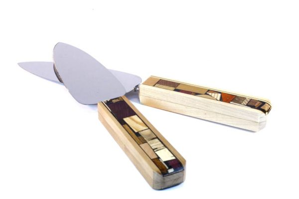 Mosaic Cake Knife-Mosaic Cake Server-Wedding Accessory-Cak-M-a-RW0862