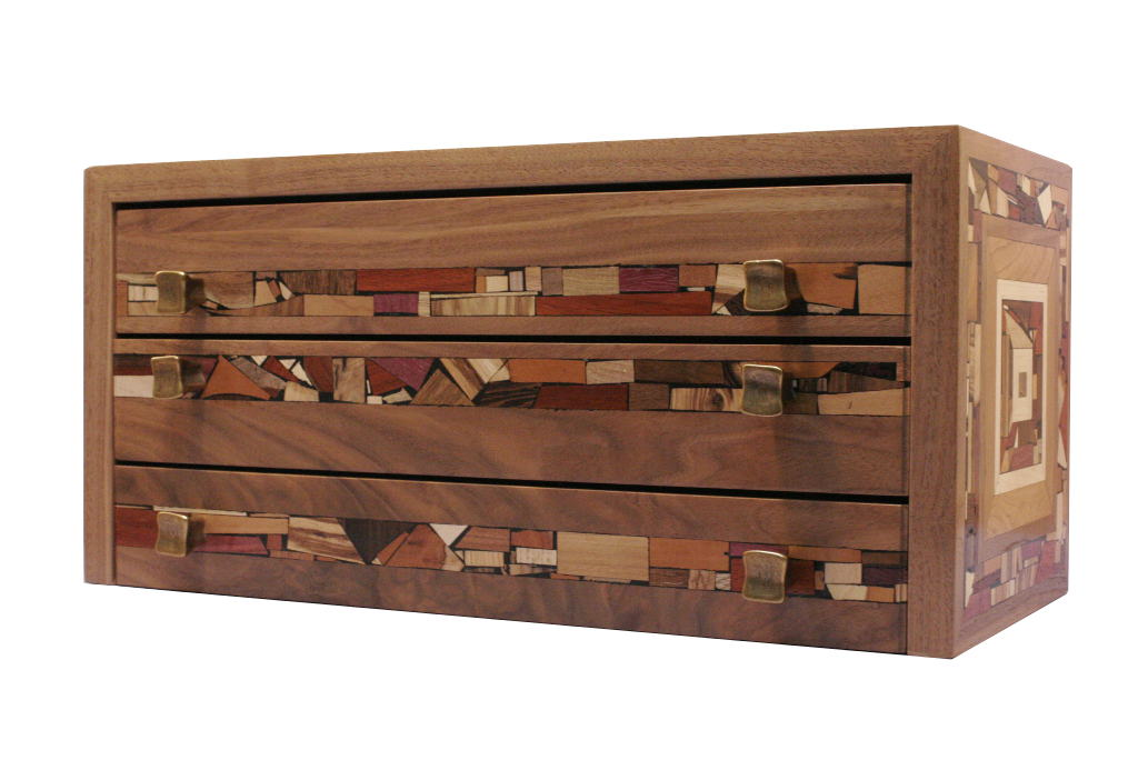 Wood On Wood Drawer ~ Model wooden organizer with drawers egorlin