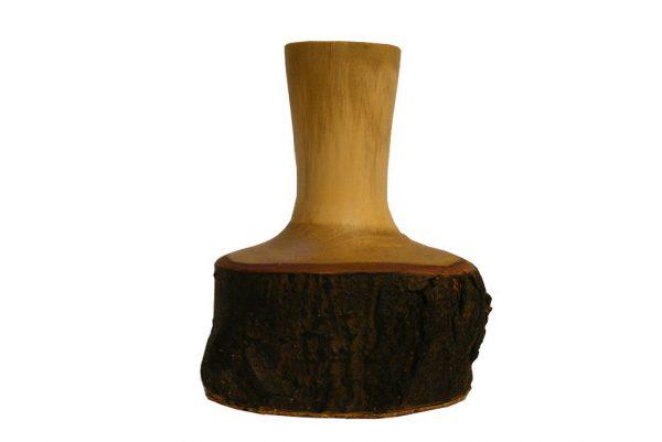 #43-Wood Weed Pot-Bud Vase-Small Flower Vase