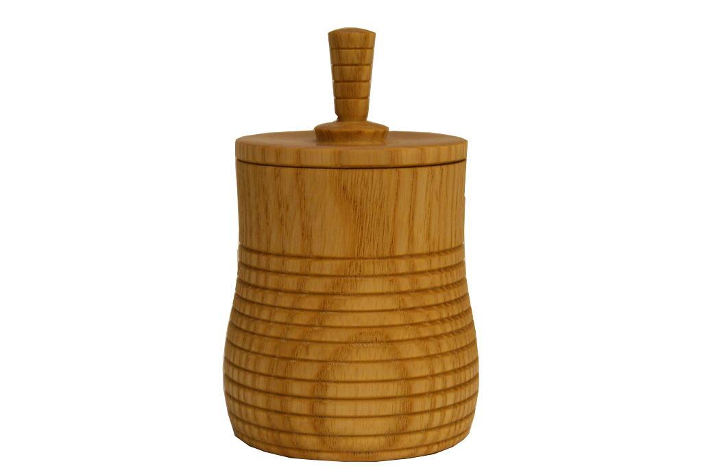 Spinning Top Box 4 - Wooden Box - 2 in 1-Spinning Top Box 4-Stash Box- BOX-050-O-ash