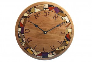 Wooden-Wall-Clock-with-Hebrew-Numerals-Modern-Mosaic-Clock-CLOCK-M-O-O-RWP-2010_0519tryfirst0137.jpg