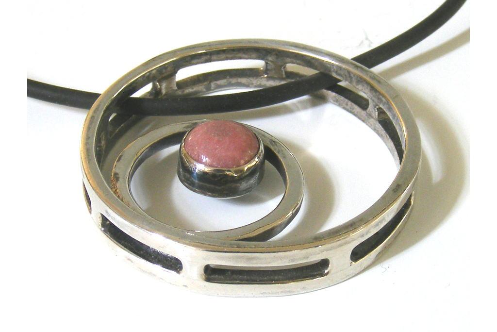 Designer-Pendant-Necklace-Circles-Squared-Modern-Silver-Pendant-w-Rose-Colored-Stone-NECKLACE-CirclesSquared-3D-silver-PC-Picture4-039.jpg