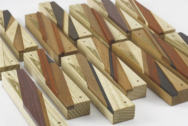 Designer Wood Mezuzah - Jewish Gift - Wooden Mezuzah - Wooden Reversi - Many Mezuzahs-MEZ-R-O-O