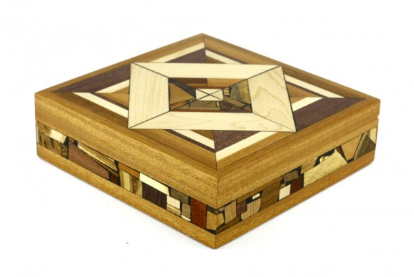 Large Mosaic Box - Memory Box - Keepsake Box