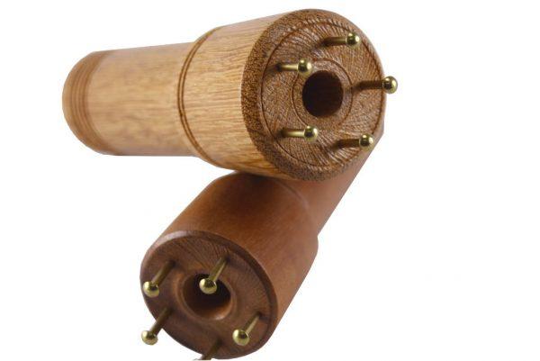 Designer Knitting Spool-Wooden Knitting Nancy-Educational Toy-Knitting Spool-KNI-.375-5-sapGrande-RWP-MG_1147