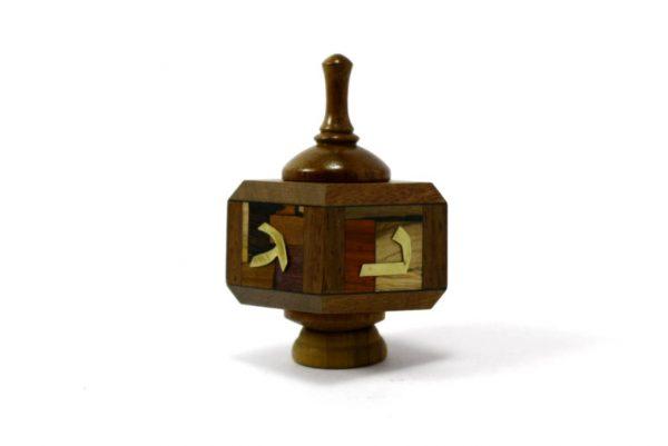 Wooden Dreidels-Hanukkah Gift- Collectors Dreidel-Wood Dreidle-DRE-M-O-rsewood-RWL-MG_3580