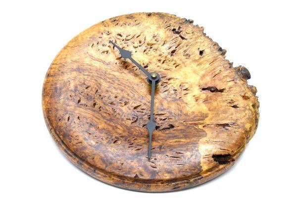 Decorative Wall Clock-Rustic Wooden Wall Clock-CLOCK-OakRoot4-O-Oak-RP-2013 137