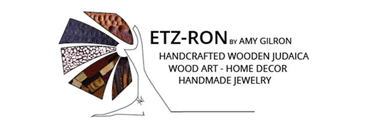Etz-Ron Logo- Handcrafted Wooden Judaica, Wood Art & Home Decor, Handmade Jewelry by Amy Gilron-logo_final_Black-720-250-larger-insideUP-01.jpg