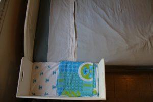 Baby Co Sleeper-Baby Bedside Sleeper-Newborn Furniture-from the top-COSLEEPER-T-80x38-Wh-RW-IMG_6968.jpg