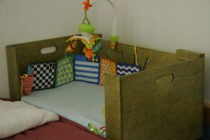Baby Co Sleeper-Newborn Baby Furniture-Bedside Bassinet-Ready for Baby-COSLEEPER-M-O-Green-_MG_1638.jpg