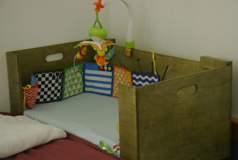 Baby Co Sleeper-Newborn Baby Furniture-Bedside Bassinet-Ready for Baby-COSLEEPER-M-O-Green-_MG_1638.jpg