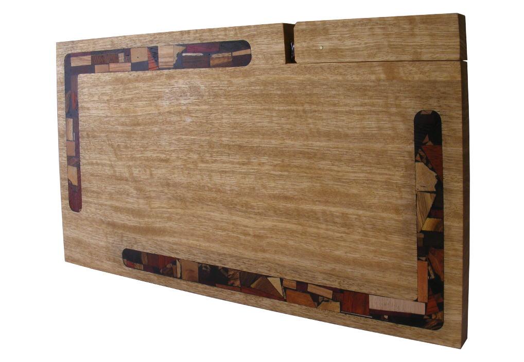 Mosaic Challah Cutting Board w/ Mosaics & Knife - Frakke Wood - Wedding-Present - CUT-KM-O-Frakke-RW-February2013-087.jpg