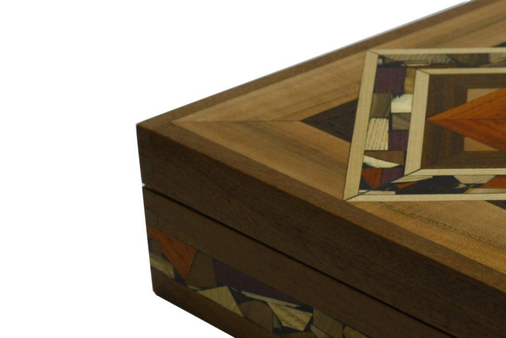 Detail-Mosaic-Tea-Box-Wooden-Tea-Box-Decorative-  sc 1 st  Etz-Ron & Mosaic Tea Box-Tea Bag Selection Box-Decorative Wooden Tea Box