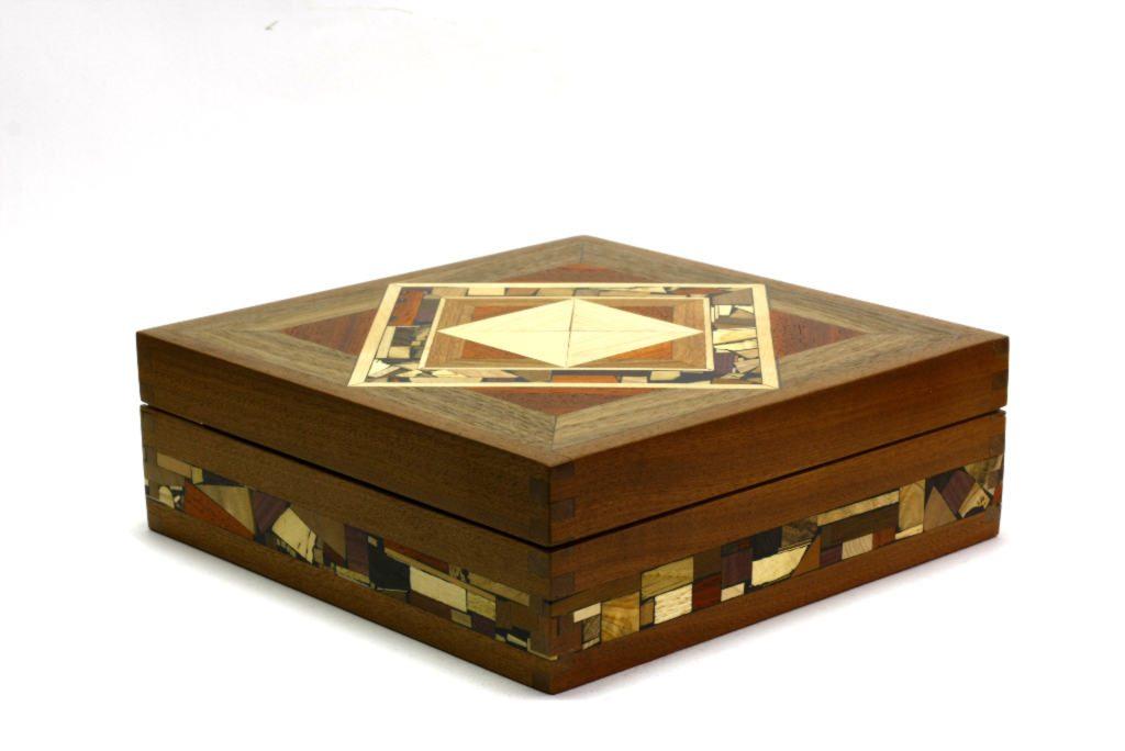 Mosaic Tea Box-Wooden Tea Box-Wooden Tea Storage Box-TEA-MF  sc 1 st  Etz-Ron & Mosaic Tea Box-Tea Bag Selection Box-Decorative Wooden Tea Box