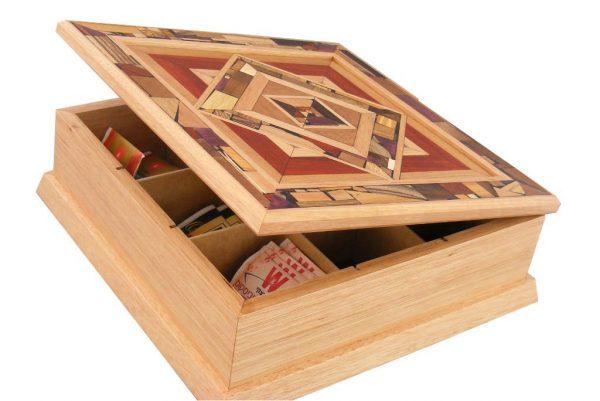 Wood Reversi Mezuzah Jewish Gift Wooden Mezuzah Jewish