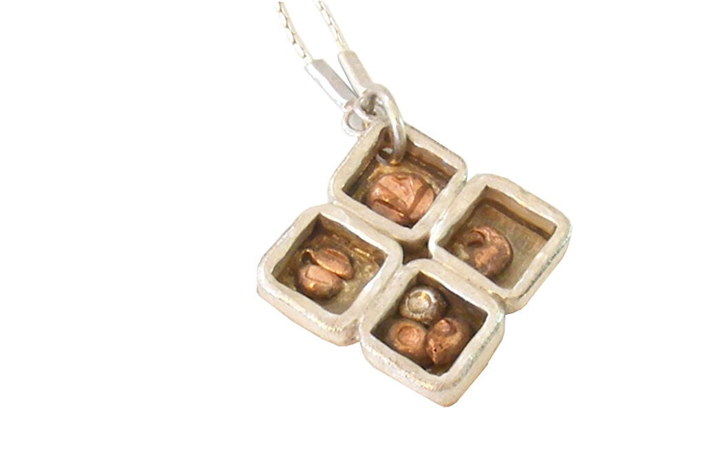 Small-Delicate-Necklace-Silver-Clover-Designer-Necklace-NECKLACE-SilverClover-2.5x2.5-SilverWCopper-PC-Picture4-004.jpg