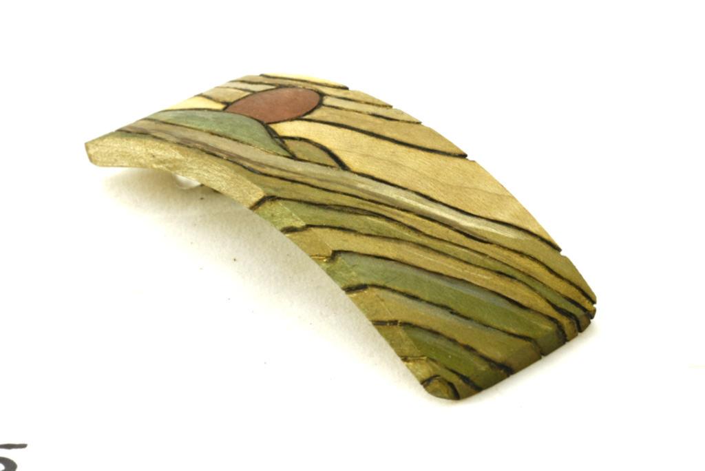 Womens Hair Accessories-Decorated Barrette-Art Deco Barrette-Sunset-BARRETTE-ArtDeco-5-maple-LCR-MG_4186