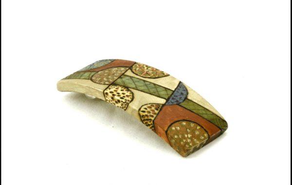 Wooden Barrette-Art Deco Barrette-Colorful Hair Accessory-BARRETTE-ArtDeco-1-maple-LCR-MG_4160