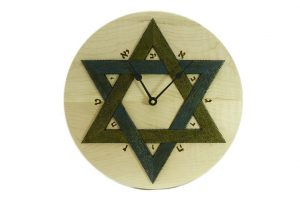 Synagogue-Wall-Clock-Star-of-David-Clock-Colorful-Wall-Clock-w-Hebrew-Numerals-CLO-Star-12D-map-RWL-MG_4446.jpg