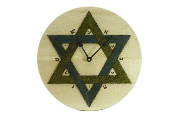 Synagogue-Wall-Clock-Star-of-David-Clock-Colorful-Wall-Clock-w-Hebrew-Numerals-CLO-Star-12D-map-RWL-MG_4446.jpg