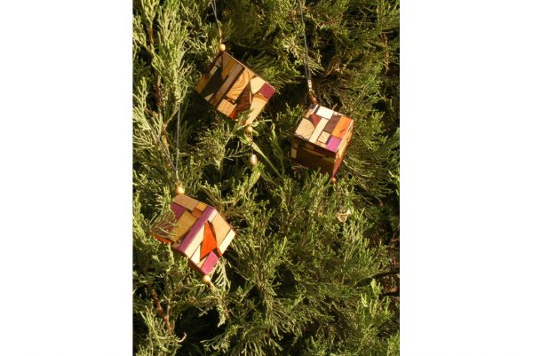 Window Ornament-Hanging Decoration-Wooden Christmas Ornament-ORN-M-3-0-R-2009_1110tryfirst0016