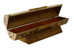 Wooden Megillah Case for Large Scroll-Horizontal Megillah Case-MEG-HOAC-53-6woods-RWCL-_MG_4287
