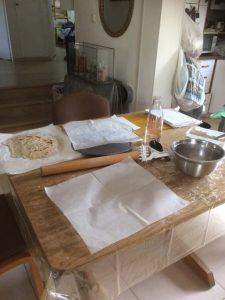 Gluten free matzah-getting all the ingredients ready-GFMATZAH-RW-IMG_2282