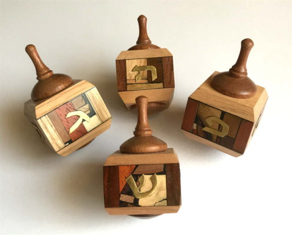 3-Wooden-Dreidels-All-Natural-Woods-Jewish-Home-Decor-Collectors-Dreidel-DRE-M-O-3-RWL-IMG_6077.jpg