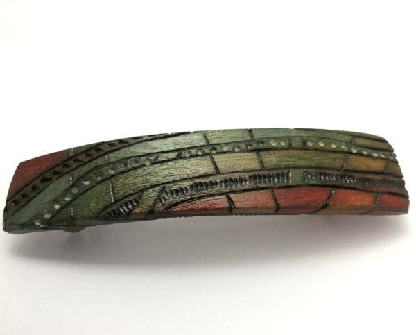 Colorful-Wooden-Barrette-BlueGreenHues-Long-Hair-Accessory-Art-Deco-Barrette-BArt-DecoBlueGreen-W-10.2x2.2-24-RW-IMG_3594.jpg
